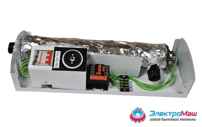 Электрокотел отопления Электромаш ЭВПМ - 9 кВТ - фото 6293