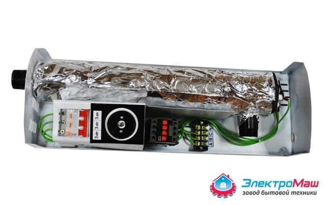 Электрокотел отопления Электромаш ЭВПМ - 9 кВТ - фото 6294