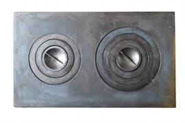 Плита чугунная под казан двухконфорочная,П2-3 710х410 мм. Балезинский ЛМЗ