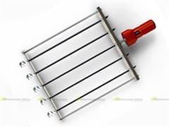 Шампура-самокруты ЧУДО 7 шт. нержавеющая сталь с двигателем УЗБИ